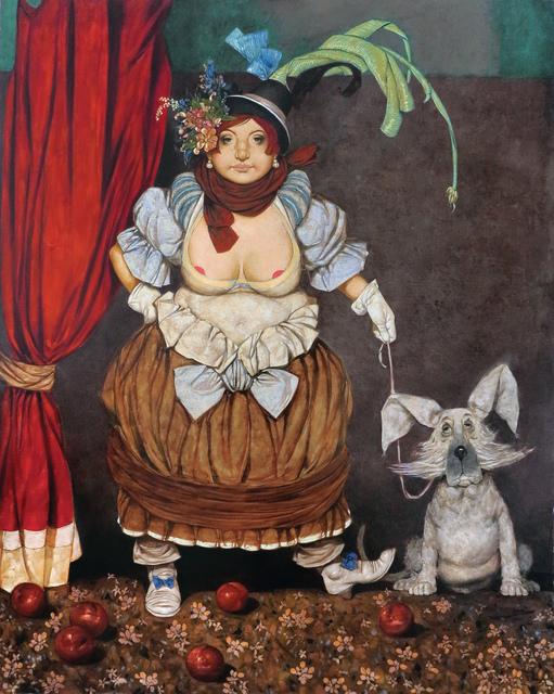 """Daron Mouradian, '""""Mademoiselle II"""" / """"Matmazel II""""', 2015, Galeri 77"""