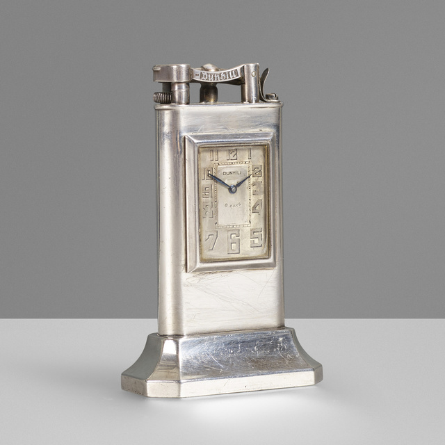 Dunhill, 'Clock table lighter', c. 1930, Wright
