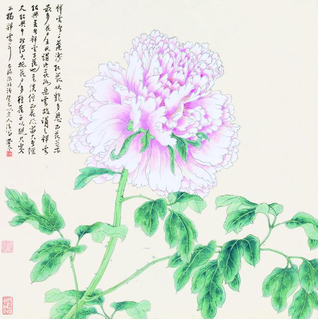 , '牡丹谱 ▪ 祥云,' 2013, YuShan Tang Gallery