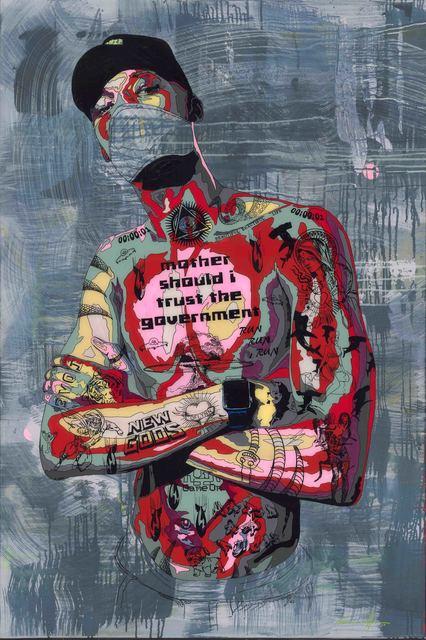 , 'Timekeeper 58 - Trust?,' 2017, Art Supermarket