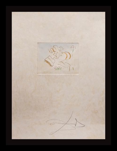Salvador Dalí, 'Petites Nus (From Appollinaire) B', 1972, Print, Etching, Fine Art Acquisitions Dali