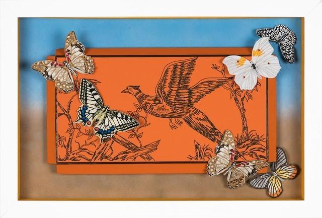 , 'Hermès Seaside Pheasant,' 2018, Roman Fine Art