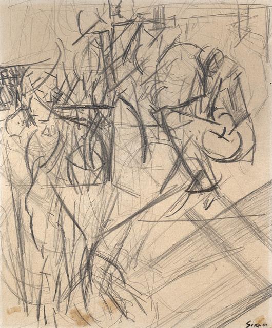 Mario Sironi, 'Composizione', 1918-1919 circa, Il Ponte
