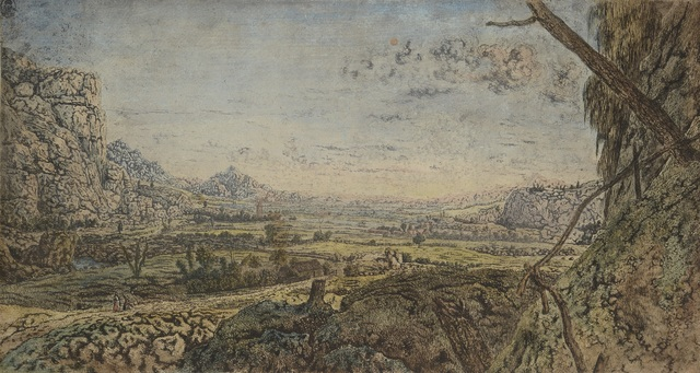 , 'Mountain Valley with Fenced Fields,' 1625-1630, Rijksmuseum