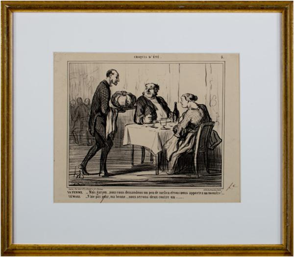 , 'CROQUIS D'ETE (Plate No. 5) LD 3203,' 1859, David Barnett Gallery