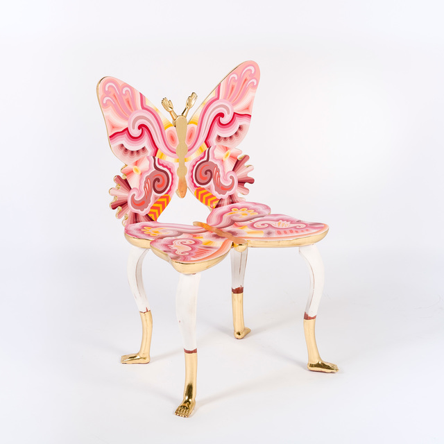 , 'Pink Butterfly Chair,,' 2012, M+B