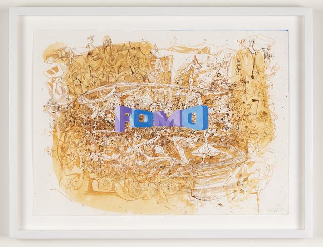 Wayne White, 'FOMO', 2019, Joshua Liner Gallery