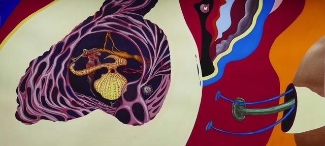 , 'Sur les deux Oreilles, Au cœur du cœur  - Paysages intérieurs d'Hui - Celui que je suis ,' , GALERIE GEORGES-PHILIPPE ET NATHALIE VALLOIS