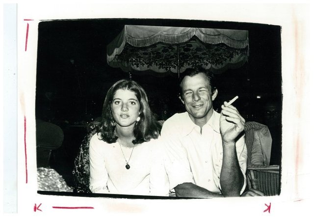 Andy Warhol, 'Caroline Kennedy and Peter Beard', ca. 1975, BlackBook Presents