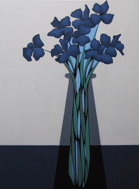 Grant William Thye, 'Blue Flowers', 2019, Vertical Gallery