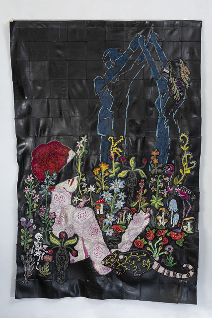 Hannalie Taute, 'She never promised you a rose garden', 2018, 99 Loop Gallery