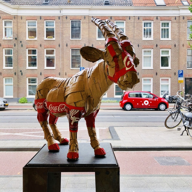 , 'gemsbok in stock,' 2018, GO Gallery
