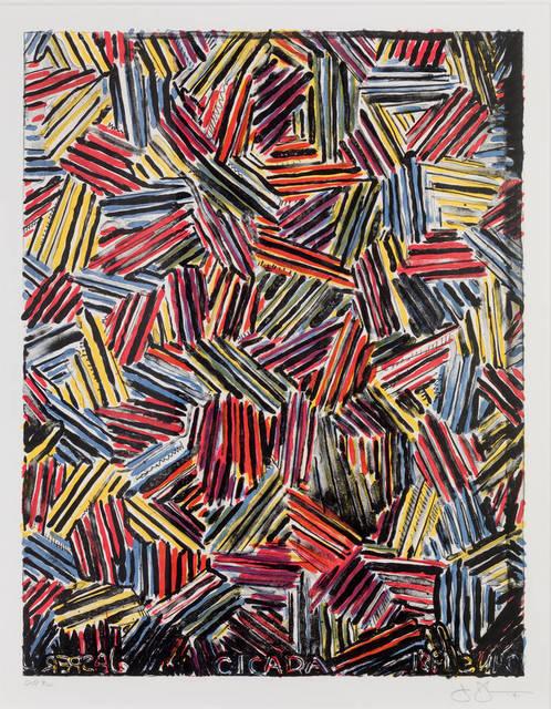 Jasper Johns, 'Cicada', 1981, Upsilon Gallery