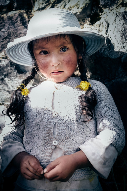 , 'Quechuan Girl,' 2015, Hilton Asmus
