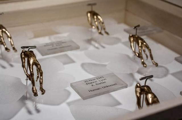 , 'Genocide Samples,' 2016, International Sculpture Center