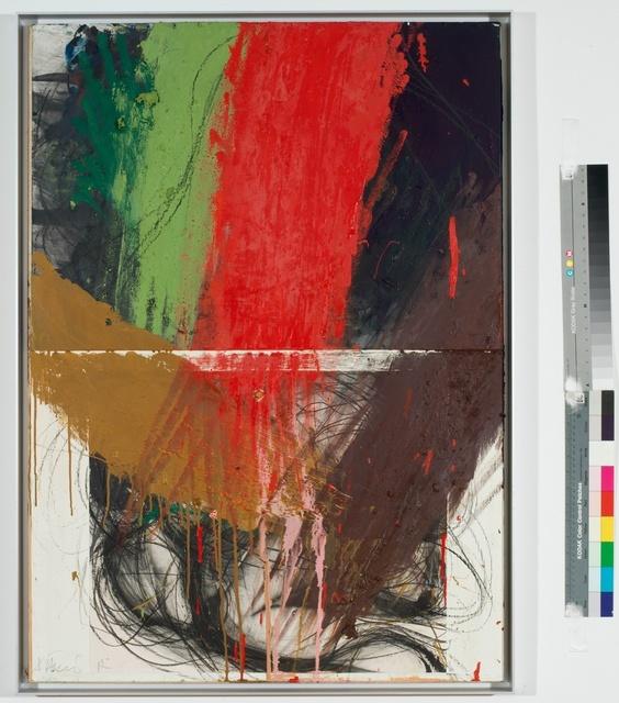 , 'Ringen unter Rot/Grün,' 1984, Galerie Elisabeth & Klaus Thoman
