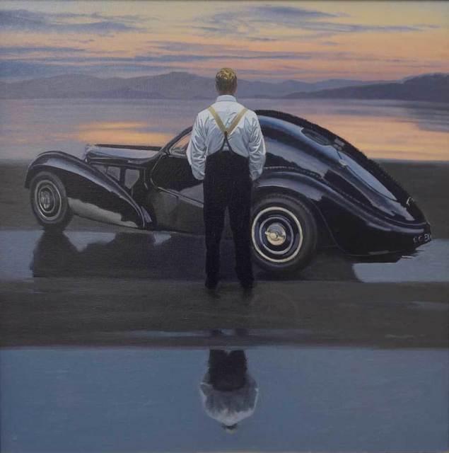 , 'Dusk Reflection ,' 2012, Pontone Gallery