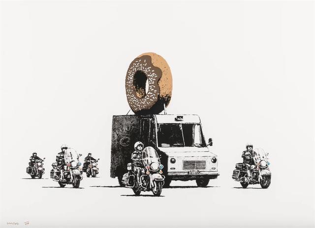 Banksy, 'Chocolate Donuts', 2009, Lazinc