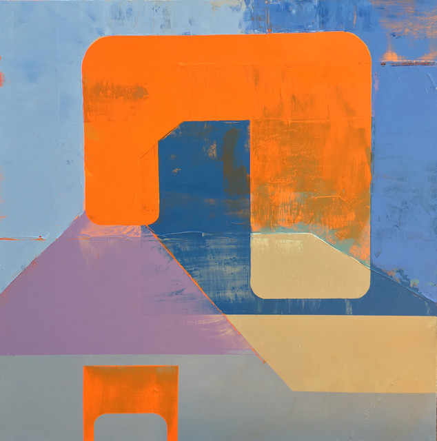 , 'Situational Curve,' 2018, The Painting Center