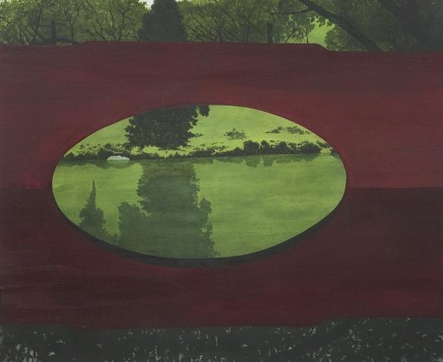 , 'Crossing. Red Bridge,' 2017, The Grey Gallery