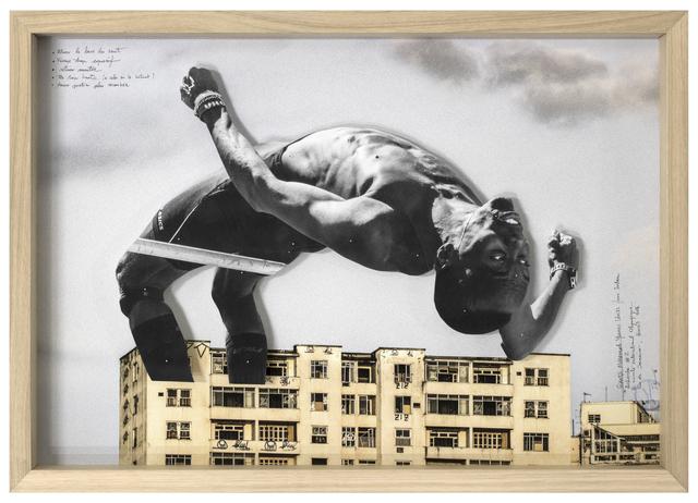 , 'GIANTS, Mohamed YOUNES IDRISS from Sudan, Recherche #2 © Comité international Olympique, Rio de Janeiro, Brazil, 2017,' 2017, Lazinc