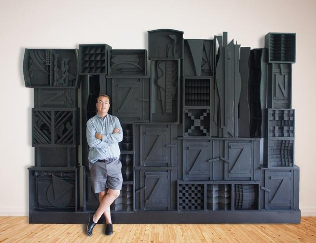 , 'Monumental  Freestanding  Wall ,' 1977, Jeffrey Spahn Gallery