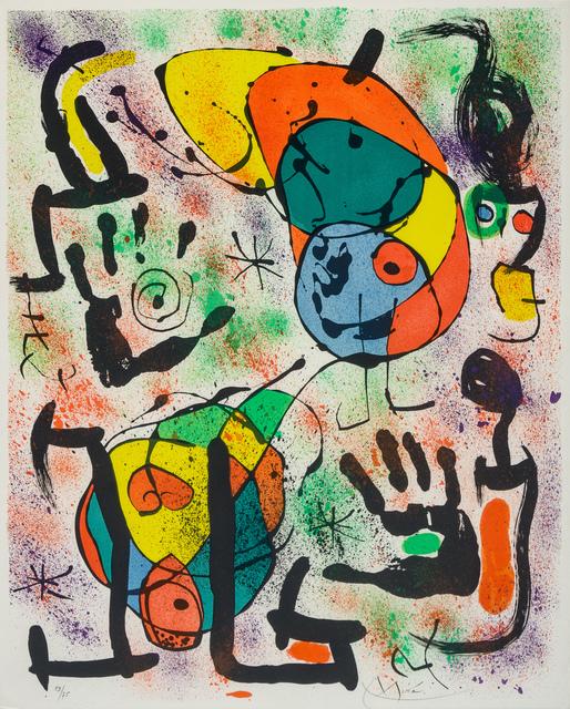 Joan Miró, 'Les Voyants: Six Plates', 1970, Print, Lithographs, Hindman