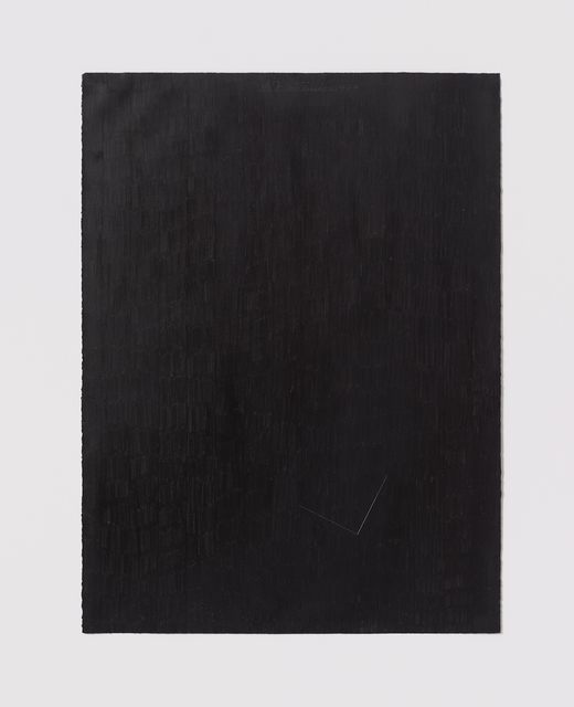 , 'Untitled Cut, O#17,' 1977, Bookstein Projects