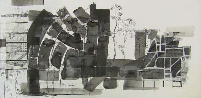 , 'Panorama 019 Aqua Micans,' 2013, Lia Rumma