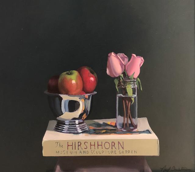 Neil Christensen, 'Still Life with Hirshhorn', ca. 2018, Painting, Oil on panel, Kiechel Fine Art