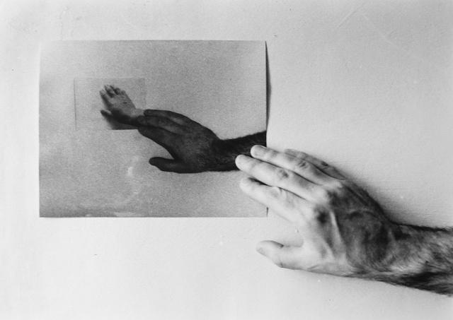 , 'Die Endlose Handkette,' 1972, Anita Beckers
