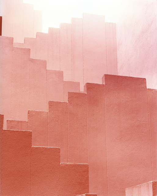 , 'Red Staircase 2 ,' 2012, Purdy Hicks Gallery