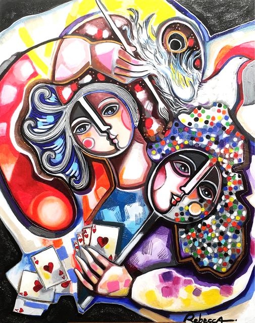 , 'The hidden face of the painter - La face cachée du peintre,' 2014, Galerie Artefact