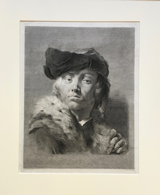 , 'Bust of a Man in a Fur Collared Coat,' ca. 1750, Pia Gallo