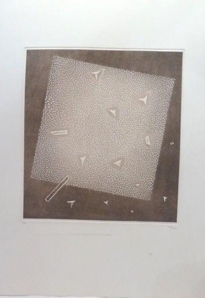 Arthur Luiz Piza, 'No title', 1991, Print, Engraving on paper, Le Coin des Arts