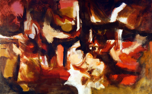 , 'Sienna Abstraction,' 1962, Benjaman Gallery Group