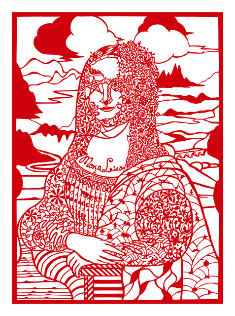, 'Reading Mona Lisa with Diamonds,' 2013, Liang Gallery