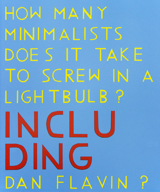 , 'How Many Minimalists Does it Take to Screw in a Lightbulb?,' 2015, Tamarind Institute