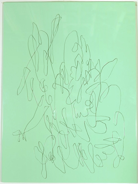 , 'Green Sleeves,' 2015, Johannes Vogt Gallery