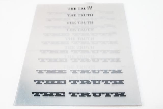 , 'Truth,' ca. 2001-2017, Interlude Gallery
