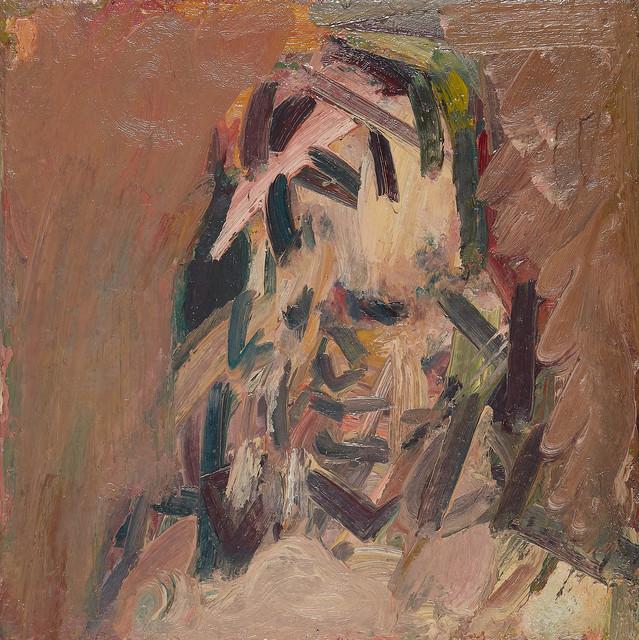 , 'Head of Catherine Lampert,' 2017, Marlborough London