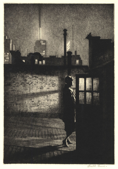 , 'Little Penthouse.,' 1931., The Old Print Shop, Inc.