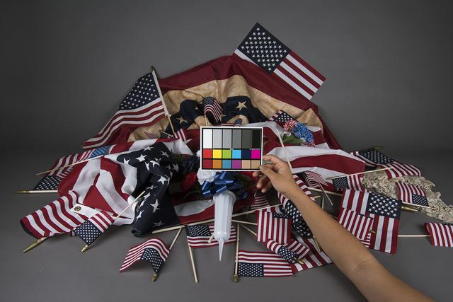 , 'Color Checker (Pileup),' 2019, RYAN LEE
