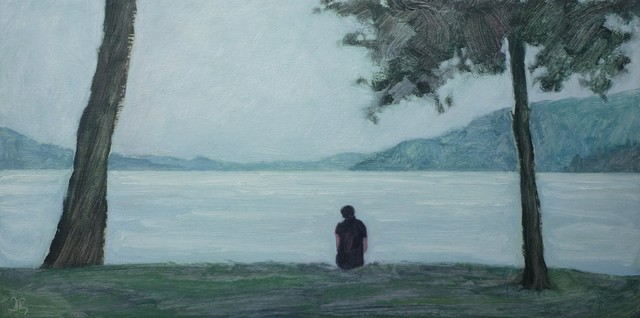 , 'Lakeside, Early Evening,' 2013, Mall Galleries