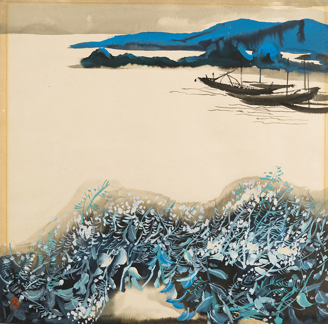 , 'Suzhou River in Shanghai,' 1979, Andy Warhol Museum