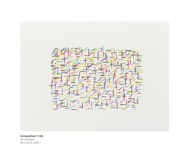 , 'Composition 11:26,' 2018, Dan Galeria
