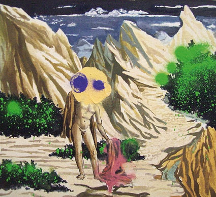 , 'No Title (Man With Landscape),' 2008, Aki Gallery
