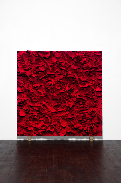 , 'Carmin Ground,' 2018, Galerie Ora-Ora