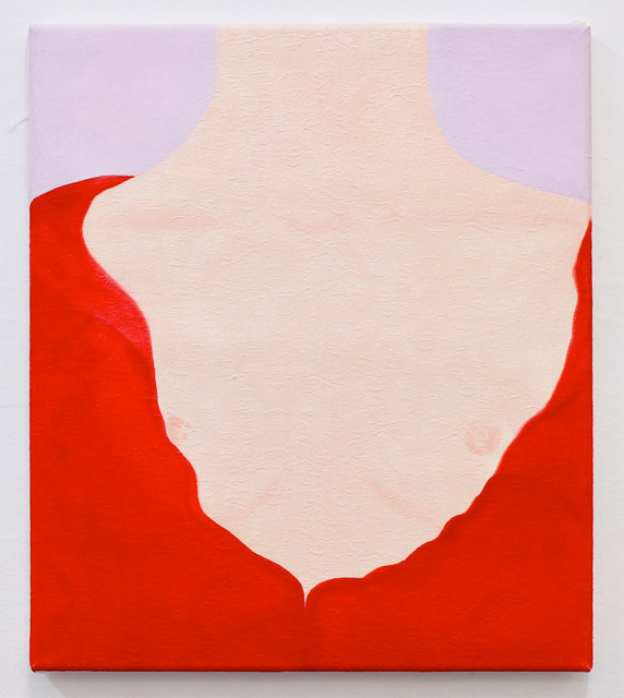 Ellie MacGarry, 'Red Undoing', 2018, Daniel Benjamin Gallery