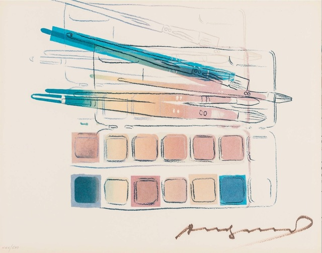 Andy Warhol, 'Watercolor Paint Kit with Brushes', 1982, OSME Fine Art